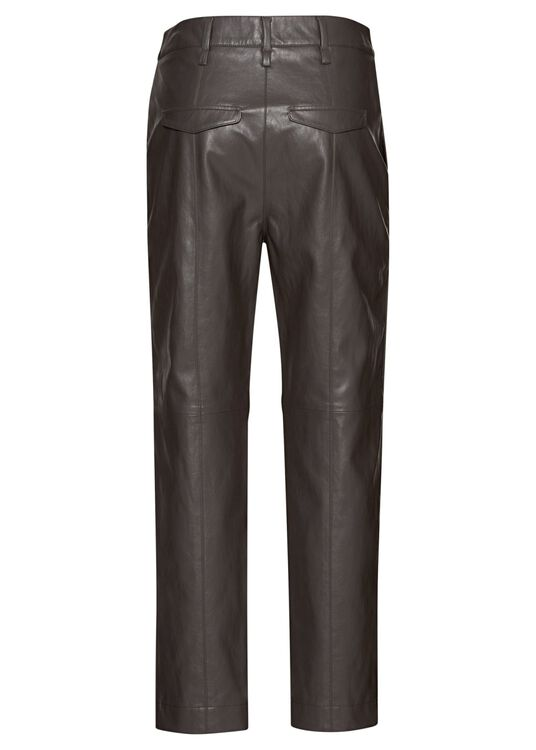 Tapered Pants in Leder-Optik image number 1