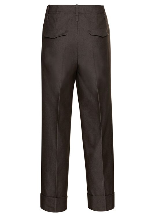 Gabardine-Wideleg-Pants image number 1