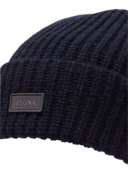 ZZ SOLID CASHMERER BEANIE image number 1