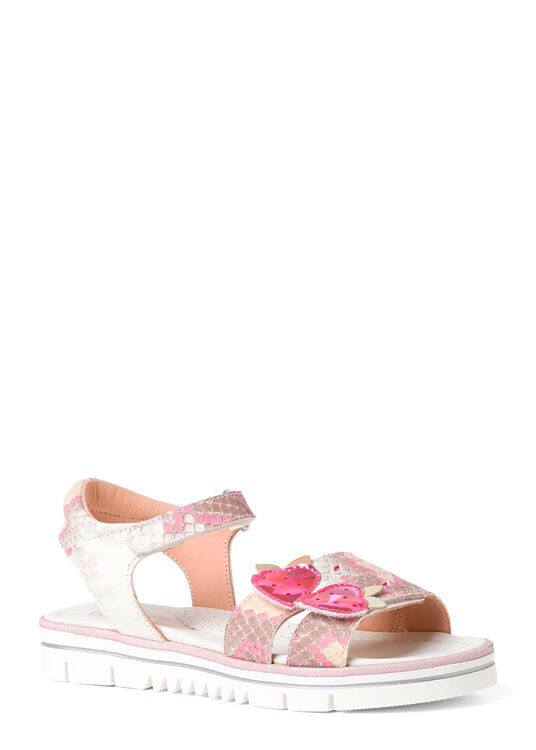 Velcro Sandals w strawberry image number 1