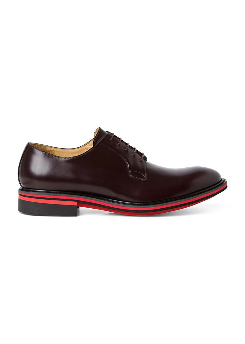 MENS SHOE ODELL BORDO, Rot, large image number 0