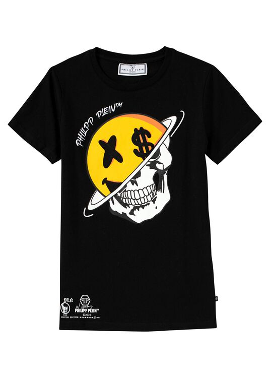 Smile T-shirt Round Neck SS image number 0