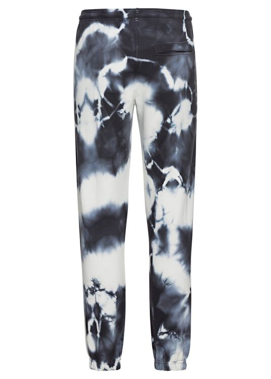 CROSS TIE&DYE RELAX SWEATPANT WHITE DARK, Weiß, large image number 1