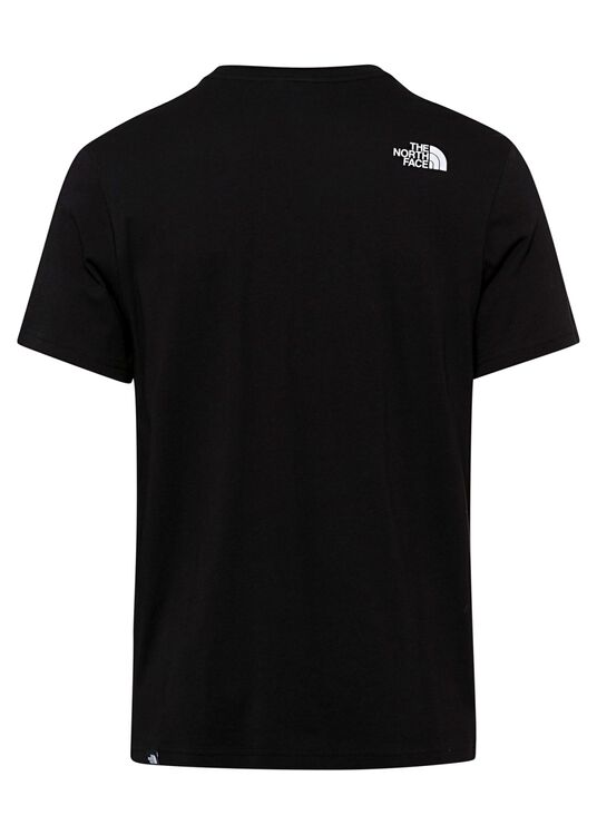 M S/S FINE TEE TNF BLACK image number 1