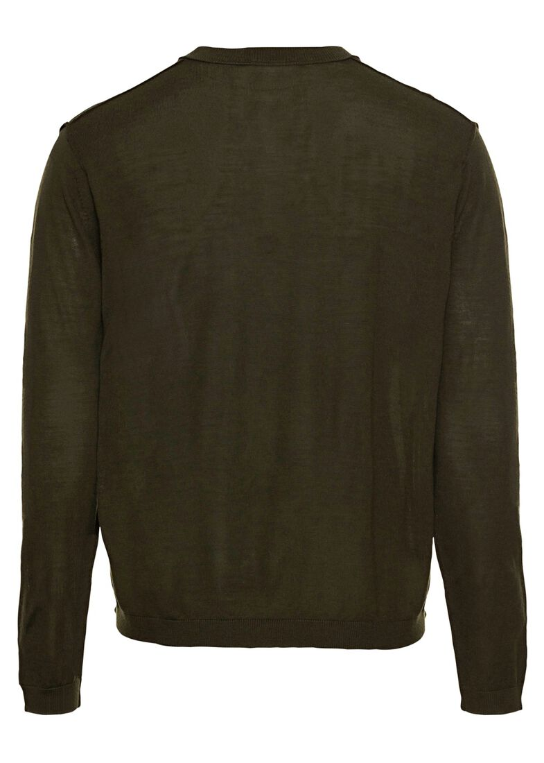SPORE      Wool pullover male, Grün, large image number 1