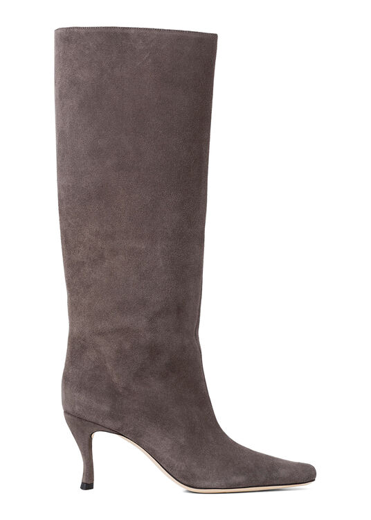 Stevie 42 Anthracite Suede Leather image number 0