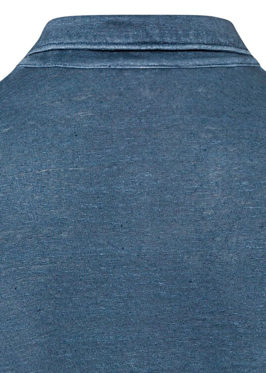 Leinen Jersey Polo image number 3