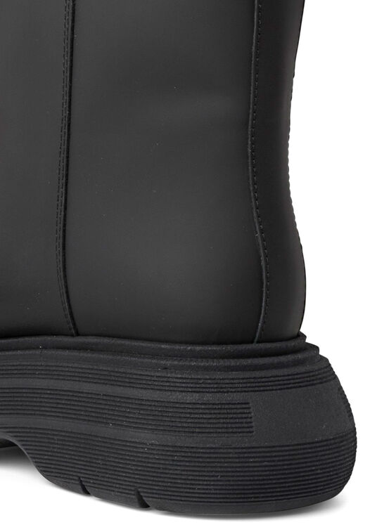 Short Black Rubber Boot image number 3