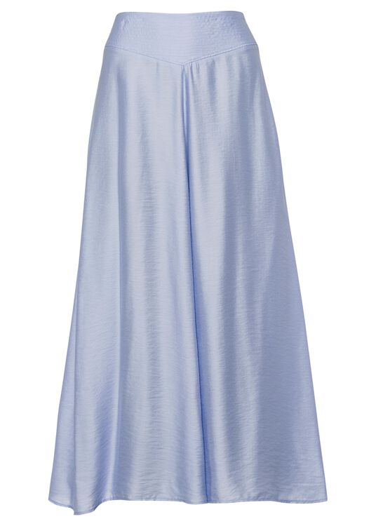 chic twill skirt image number 0