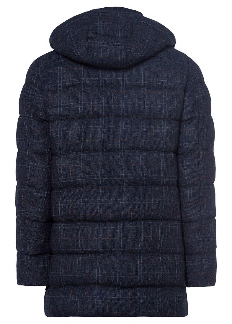 Men's Woven Half Coat, Blau, large image number 1