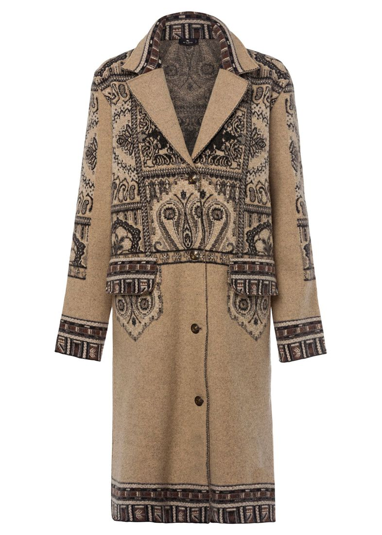 MAGLIA CAPPOTTO SELLA CLASSIC, Beige, large image number 0