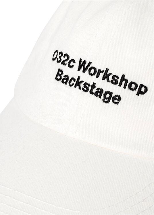 'BACKSTAGE' CANVAS CAP image number 1