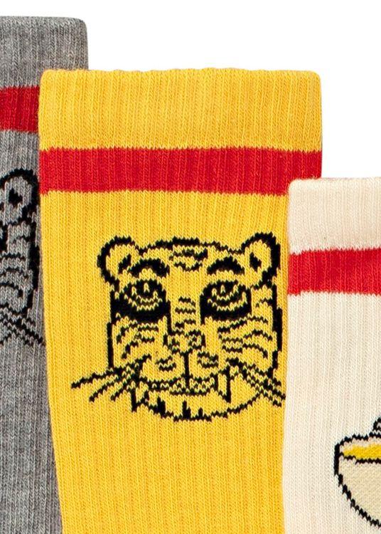 Tiger 3 pack socks image number 2
