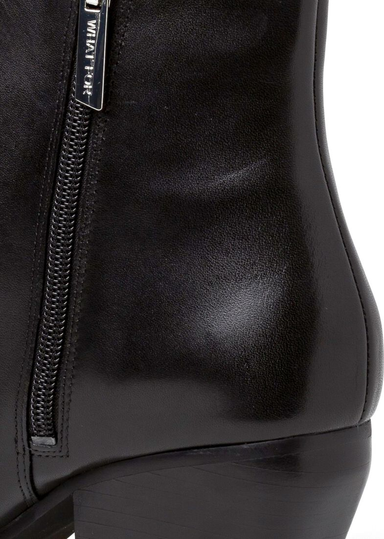 7_Scavo Pointy Boot Calf, Schwarz, large image number 3
