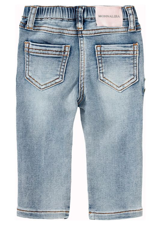 Teddy Patched Jeans, Blau, large image number 1