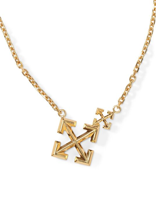 DOUBLE ARROW NECKLACE image number 1