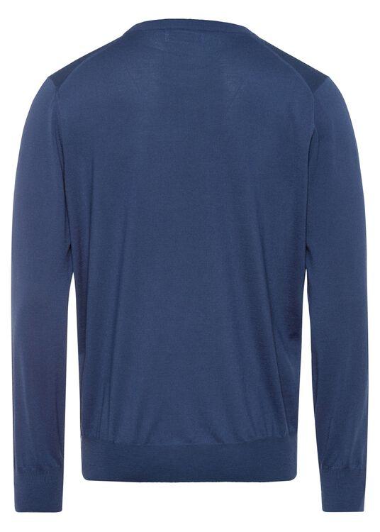 Full Zip Cardi Wool Cash Lightweight image number 1