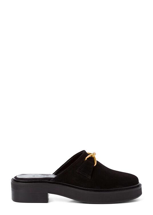 Walker Black Suede Leather image number 0
