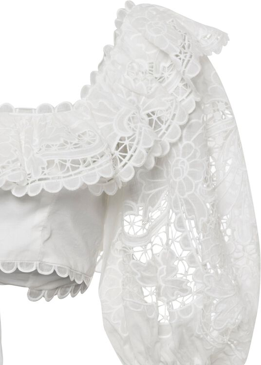 Lulu Scallop Frill Top image number 2