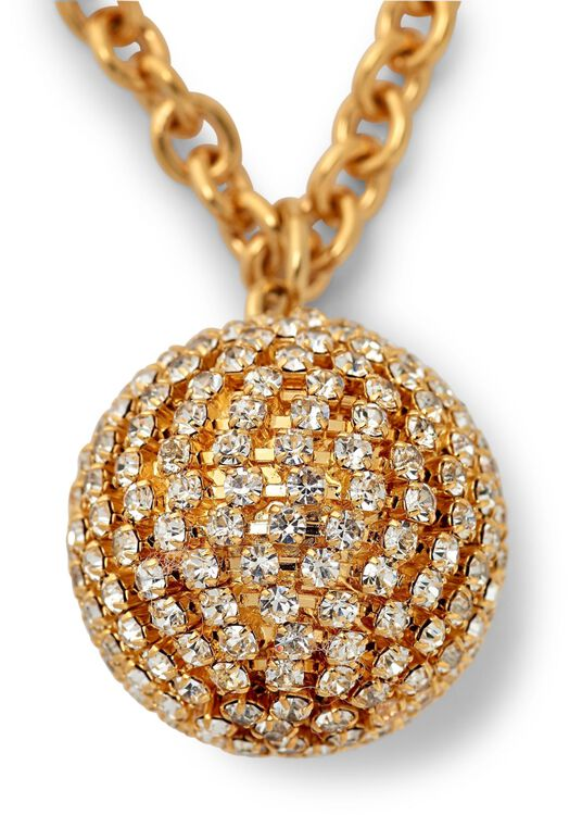 COLLANA IN METALLO E STRASS image number 1