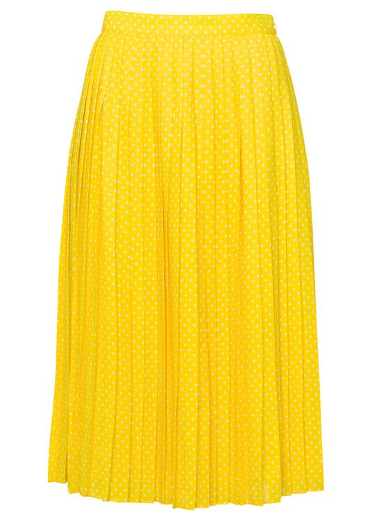 Short pleated skirt image number 1