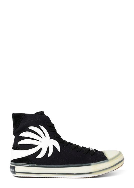 VULC PALM HIGH TOP BLACK WHITE image number 0