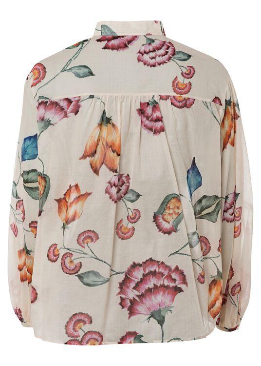 Bluse mit Vintage-Flower-Print image number 1