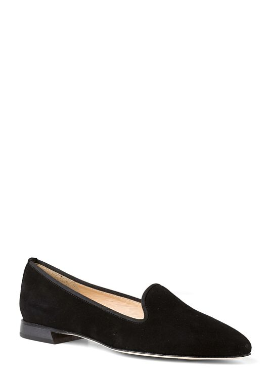 22_Pointy Loafer Suede image number 1