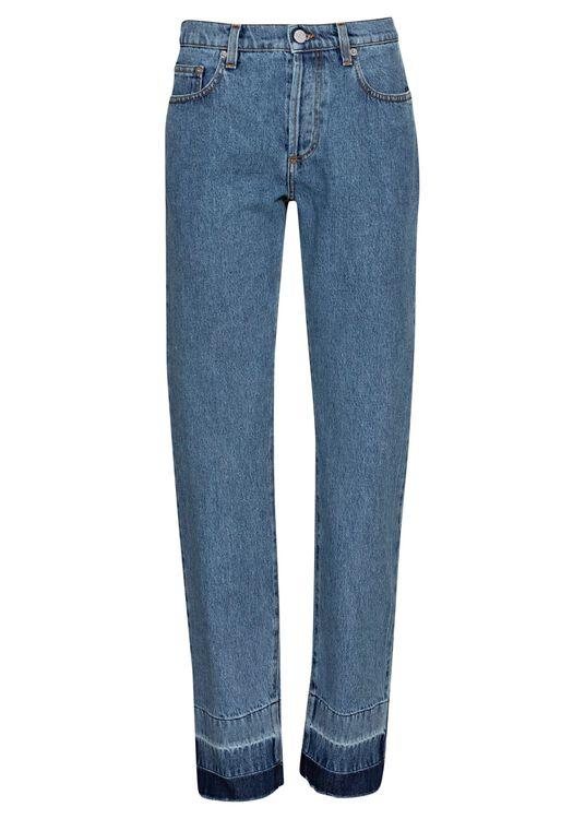Raw Hem Slim Jeans image number 0