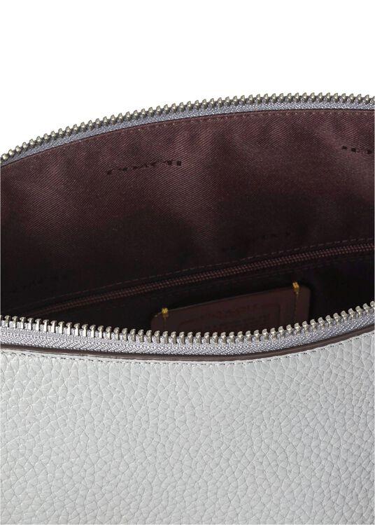 soft pebble leather shay shoulder bag image number 3