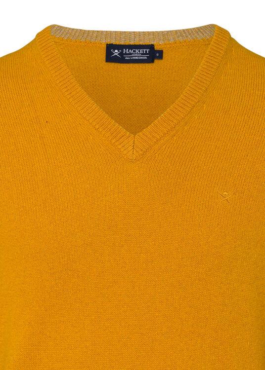 LAMBSWOOL V NECK image number 2