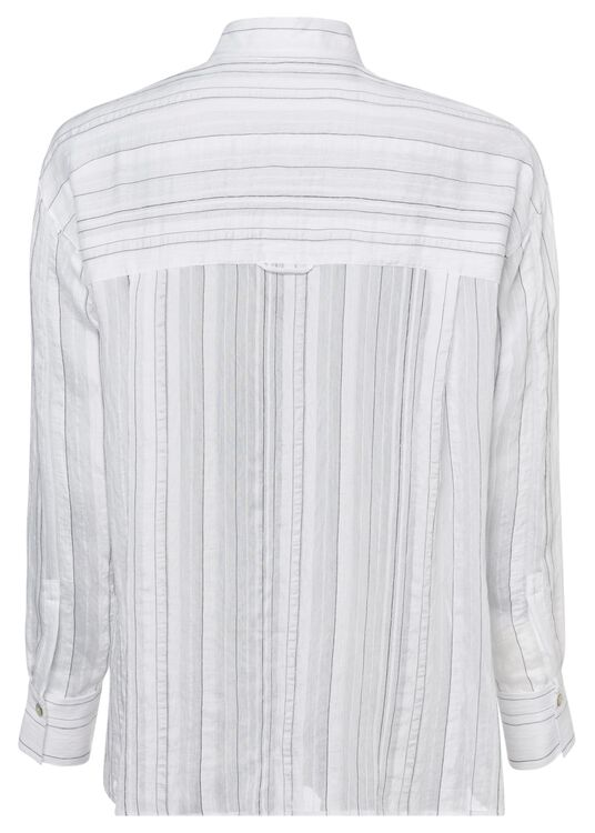 DRAPEY STRIPE CONVERTIBLE BUTTON Down image number 1