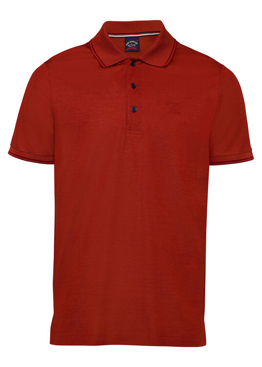 MEN'S KNITTED POLOSHIRT C.W. COTTON image number 0