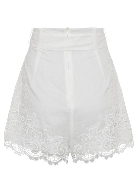 Lulu Scallop Shorts image number 1