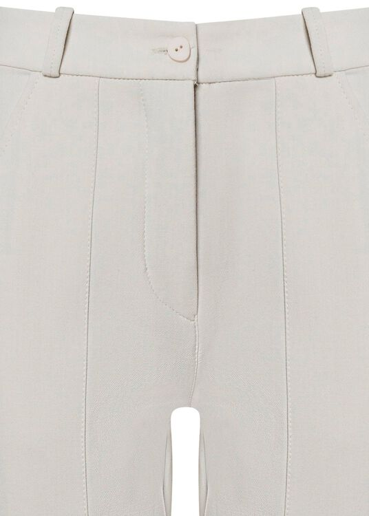 TIGHT HIGH WAIST PANTS WITH SLITS image number 2