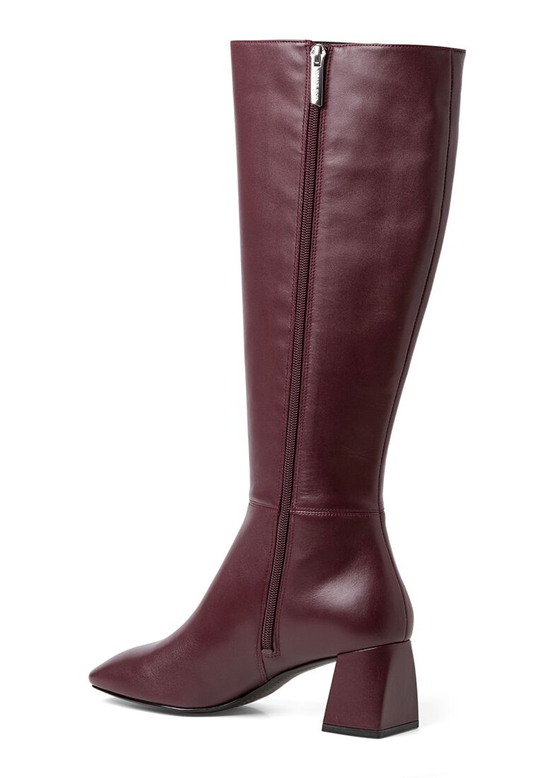 1_Giselle Knee Boot Calf, Rot, large image number 2