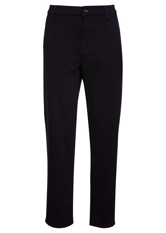 TRAVEL CHINO DOUBLE KNIT  BLACK image number 0