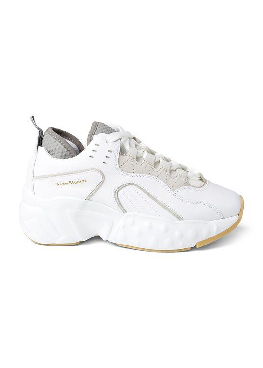 3_Manhattan Nappa Sneaker, Weiß, large image number 0