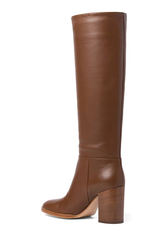 6_High Boot Nappa Stacked Heel image number 2