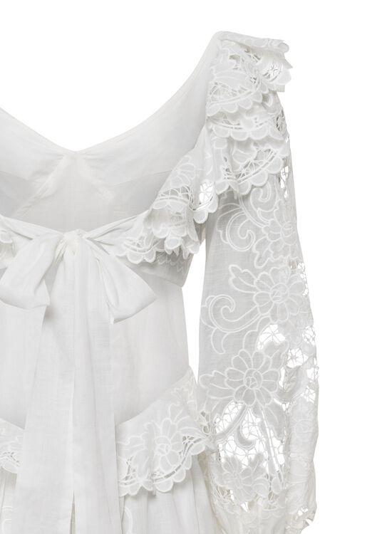 Lulu Scallop Mini Dress image number 3