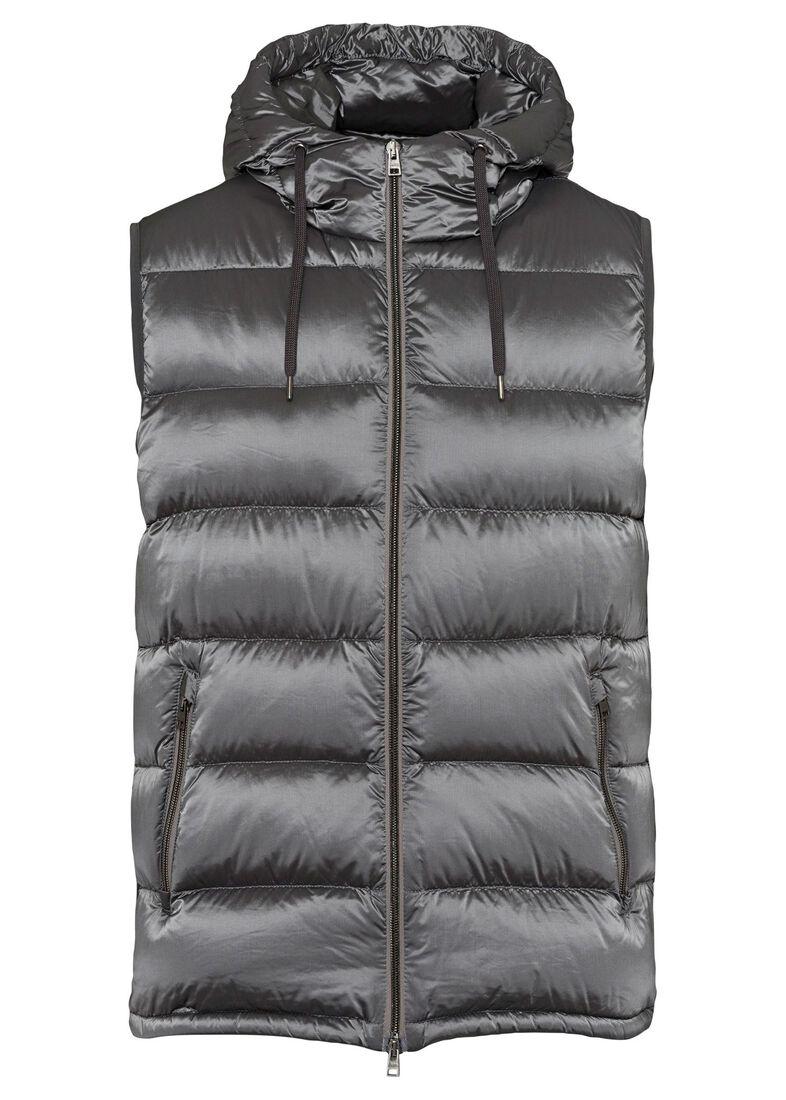 Men's Woven Jacket, Grau, large image number 0