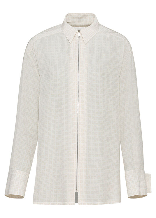 CLASSIC SHIRT WITH FRONT ZIP image number 0