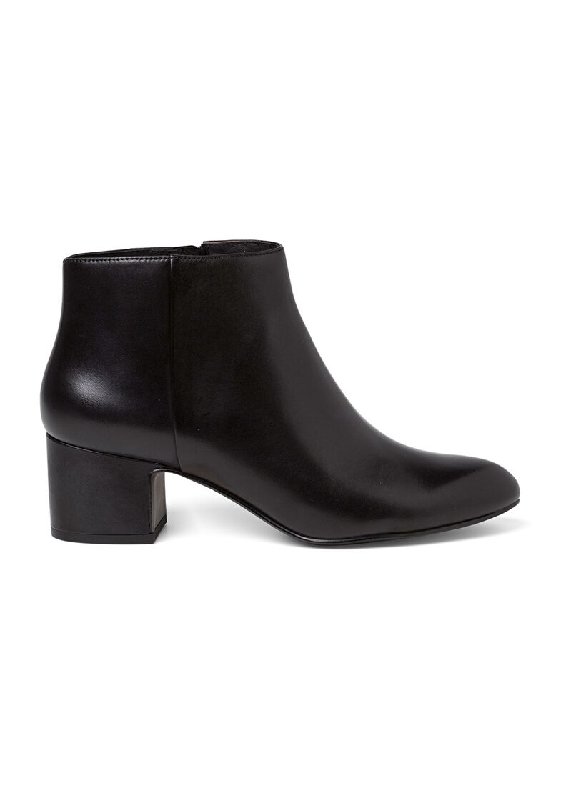 10_Marylin Classic Bootie Calf, Schwarz, large image number 0