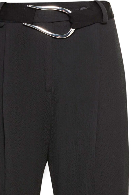 PLEATED BELTED TROUSER image number 2
