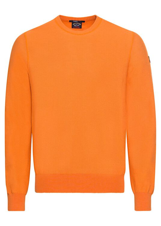 MEN'S KNITTED ROUNDNECK C.W. WOOL image number 0