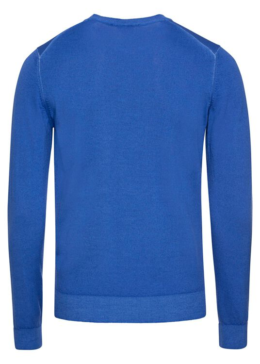 MEN'S KNITTED ROUNDNECK C.W. WOOL image number 1