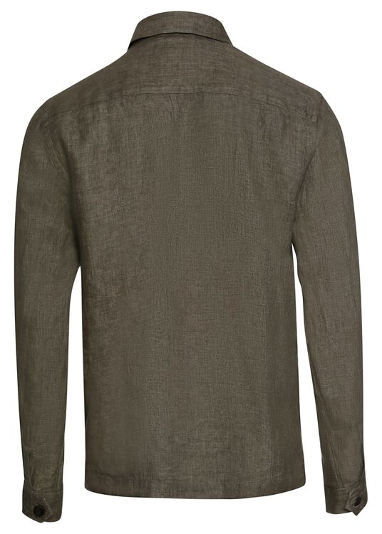 1000020886809 Men shirt: Casual / Linen Twill image number 1