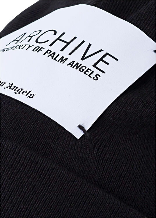 ARCHIVE BEANIE  BLACK WHITE image number 1