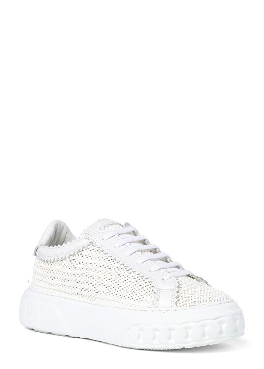 Woven Leather Sneaker image number 1