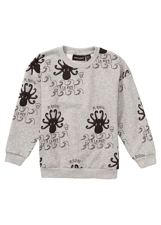 Octopus AOP Crew Neck, , large image number 0